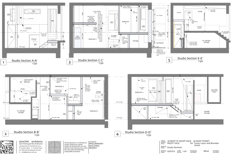 warehouse conversion sections